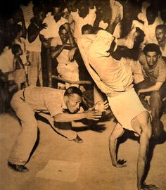 """Joao Ramos do Nascimento (1925-1975) aka 'Mestre Traira' recorded Capoeira rhythms together with Mestre Cobrinha Verde. Other than that he is known to have had an agile, fast game, which was """"only comparable to Mestre Pastinha's"""" ( as Jorge Amado describes ). The Mestre who started Capoeira Angola with him was Mestre Barba Branca ( from 'Grupo Capoeira Angola Cabula' )."""