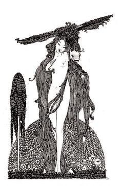 Donkey-Skin – Harry Clarke. Harry Clarke's Illustrations for Perrault's Fairy Tales | Pook Press