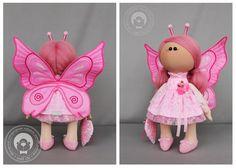 Мягкие прелести от Wolli Chi: Бабочки/Butterfly