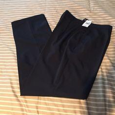 NWT Navy Slacks from Basler Brand new navy dress pants from high end Basler line.  Originally retail for $322!  Size 14. Basler Pants