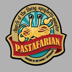 Seal of the Church of the Flying Spaghetti Monster