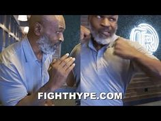"""""""I'm not getting back in the ring but I could 😂 just paying it forward. Love talking to this generation of fighters,"""" wrote heavyweight legend Mike Tyson, wh. Mike Tyson Workout, Boxer Workout, Boxing Techniques, Hacking Books, Angle Of Attack, Self Defense Moves, Boxing Fight, Pay It Forward, Karate"""