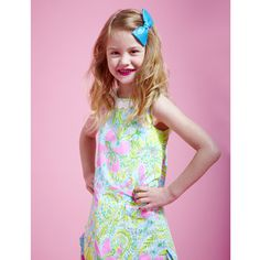 Fun girly shoots  Lily Pulitzer  Mark Moyer Photography, child model, poses, floral,