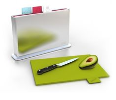 Index™ is our multi-award-winning chopping board categorization system, designed to reduce the likelihood of cross-contamination of different food types. The stylish storage case contains four individual chopping boards. Each board is colour-coded and has Cutting Board Storage, Chopping Board Set, Cutting Boards, Kitchen Items, Kitchen Gadgets, Kitchen Dining, Kitchen Stuff, Kitchen Tools, Kitchen Utensils