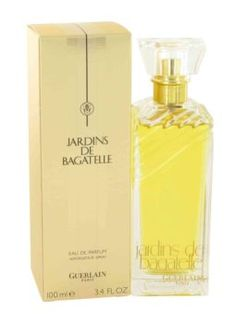 Jardins De Bagatelle Perfume by Guerlain, 3.4 oz Eau De Parfum Spray for Women -  Jardins De Bagatelle Perfume by Guerlain 3.4 oz Eau De Parfum Spray for Women. This Very Feminine Floral Scent Was First Introduced In 1963 By The Design House Of Guerlain. The Name For The Woman Who Is Daring,joyful And Luminous This Fragrance Posses A Blend Of...