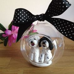 *Contact me directly using the REQUEST CUSTOM ORDER button to discuss your requirement prior to payment* Custom Dog Pet Ornament - Bespoke