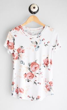 Basic dressed up with floral print and feminine colors. https://www.stitchfix.com/referral/11803975?sod=w&som=c&str=16270&v=b