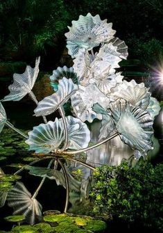 Dale Chihuly - glass sculptures by guadalupe