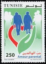 StampedeBeta - Stamp Profile - Parental Love stamp from Tunisia   Stampnews.com