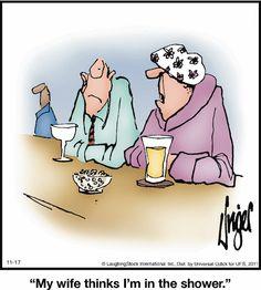 Funny Long Jokes, Humorous Quotes, Hilarious, Funny Stuff, Herman Cartoon, Herman Comic, Cartoon Jokes, Funny Cartoons