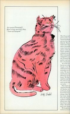 c86:    Andy Warhol - Illustration for McCall's  via MewDeep