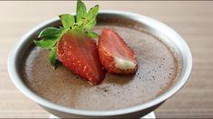 Mousse de Chocolate Fit só 2 ingredientes