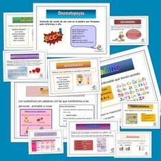 Carteles Conceptos básicos lengua