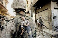Galeria de cenas inusitadas em guerras! | S1 Notícias