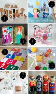 Persia Lou: 24 Awesome DIY Gifts for Kids - This is a really good list!