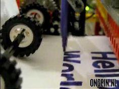 Printer van Lego! - YouTube