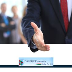 Welcome to Sankalp. We are a trustworthy and business approved consultant. With our guidance and career guidance, we set you on the right part, for all your future endeavors. Join us, as we place you in the top job designations and profiles, that highlight your potential. Work in an environment that you deserve. Sankalp Recruitment, We find your dream job. #sankalpplacement #opportunity #unemployed #jobhunt Visit - http://www.sankalpplacement.com/
