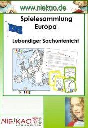 Spielesammlung Europa - Lebendiger Sachunterricht