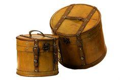 Vintage Hat Boxes | vintage hat boxes gorgeous vintage looking wooden hats boxes so ...