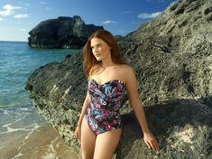 6f5e879cac7 Anne Cole Women's Plus Size That's A Wrap Twist Front Shirred Bandeau One  Piece Swimsuit