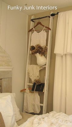 If you read this post you'll understand why I'm on the hunt for some vintage ladders.