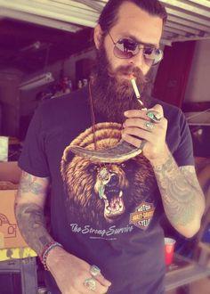 Tattoo Lust: Beards & Tattoos XVI | Fonda LaShay // Design → more on fondalashay.com/blog