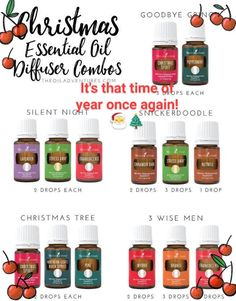 Create magical winter diffuser blends with Anointed By Abba and Young Living Essential Oils instead of burning toxic candles! Young Living Oils, Young Living Essential Oils, Young Living Diffuser, Essential Oils Christmas, Essential Oil Diffuser Blends, Essential Oil Combos, Yl Essential Oils, Aroma Diffuser, Aromatherapy Oils