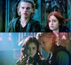 Clary and Jace =young love