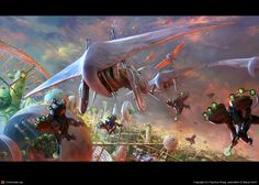 Project Hephaestus by Kunrong Yap   2D   CGSociety