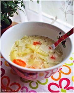 Supa de cartofi cu tarhon - Ama Nicolae