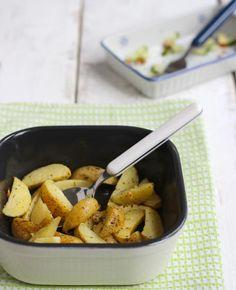 Knoflookaardappeltjes uit de oven | Flairathome.nl