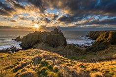 Dunnottar Castle at the North Se by Peter Ribbeck Photogrpahy, Scotland.