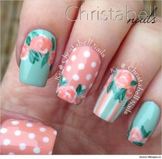 Try these amazing Nail Art perfect for weddings and bride. Learn how to apply these nail art.