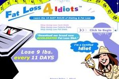 Fat Loss 4 Idiots the easiest fat burning program.