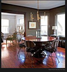 chairs, light fixture