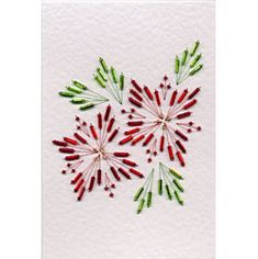 Stitched and beaded designs for cards. Download for $1.62 US.