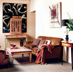 Trend Spotting Autumn Fall Interiors in Design, Home Decor, Art, Accessories, Style and Fashion. Featured: Autumn, Burnt Sienna, Copper, Autumnal Hues, Color Palettes in the home