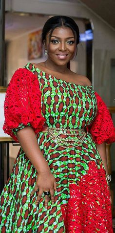 Yvonne okoro looking cute in ankara prints, african fashion, ankara, kitenge, african Short African Dresses, African Lace Styles, African Print Dresses, African Prints, African Fashion Ankara, Latest African Fashion Dresses, African Print Fashion, Ghanaian Fashion, Kente Styles