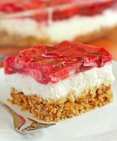 best best of recipes: Strawberry Pretzel Dessert