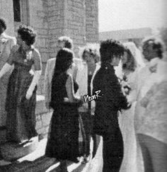 Prince and Susan Moonsie attending Dez Dickerson's wedding