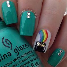 131 Best St Patrick S Day Nail Design Images St Patricks Day Nails Nail Designs Nails