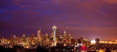 Seattle Skyline   by Jinna van Ringen