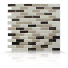 The murano dune tiles can be installed as a kitchen backsplash or even in a bathroom. However, don't limit yourself to installing them in a kitchen or a bathroom, you can install them in any room of your home. They are easy to install because they are self adhesive, just clean the surface where you want to install them, remove the protective backing and stick. It's just that easy.