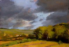 Julian Merrow-Smith  Autumn (view from my window) - click anywhere outside of image to close