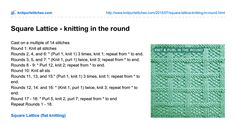 knitpurlstitches.com-Square Lattice - knitting in the round.pdf