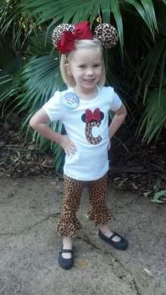Cute Disney outfit made by Carleigh Bug's Find me on facebook