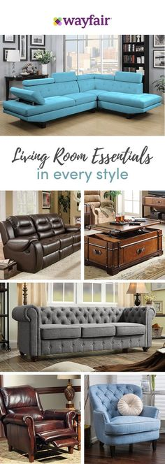 From cool and contemporary to mid-century inspired, Wayfair's sofas complete your living room look. With rolled arms, built-in ottomans, recliners, tufting, and leather, our vast selection of sofas has every feature you can imagine to suit all styles and budgets. Visit Wayfair to get exclusive deals at up to 70% OFF, and FREE shipping on any order over $49! Sign up and shop now.