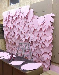 Ideas For Birthday Party Photo Booth Backdrop Diy Wedding Flower Backdrop, Flower Wall, Paper Backdrop, Party Kulissen, Ideas Party, Diy Ideas, Photo Booth Backdrop, Photo Booths, Backdrop Ideas