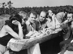 Vaclav Havel, Adam Michnik, Jacek Kuron,