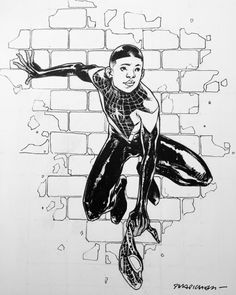 #milesmorales . pre-show commission #NYCC